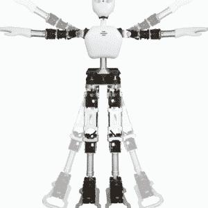 ROBOBUILDER UXA-90 HUMANOID ROBOT